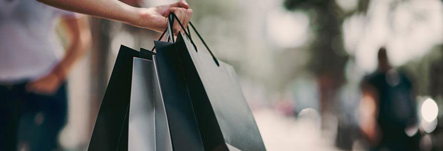 Shopping zone commerciale aux alentours de Rennes